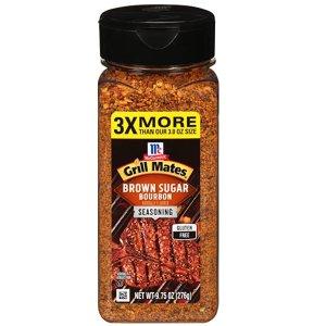 $3.88McCormick Grill Mates 红糖波本烧烤调味料 9.75 oz