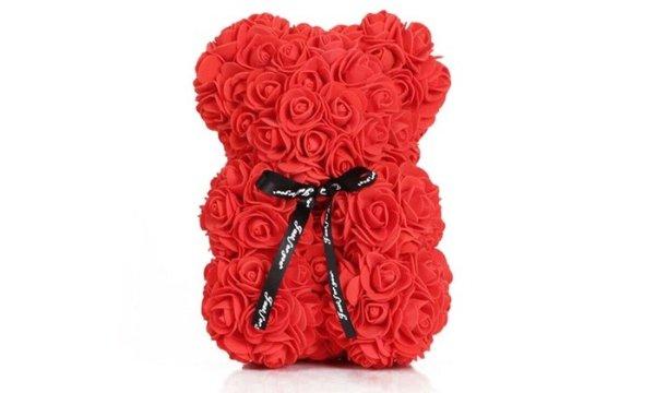 25cm 红玫瑰