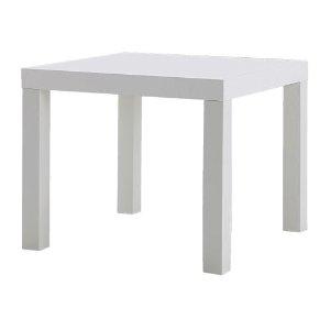 LACK Side table - white, 21 5/8x21 5/8