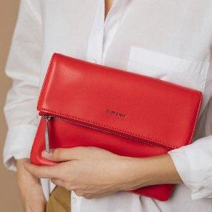 7.5折起+首单9折 粉色斜挎$77Matt&Nat 加拿大小众环保美包 收Givenchy平替