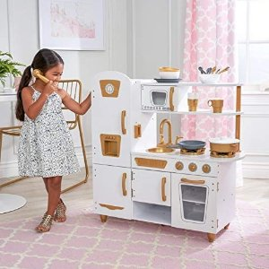 史低价:KidKraft 现代化小厨房套装,27个配件