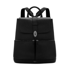Reston Backpack | Black Calfskin | Backpacks | Mulberry