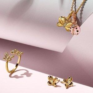 全新自然风 吹开你的桃花运Pandora春季珠宝全新上市 蝴蝶元素诠释真我