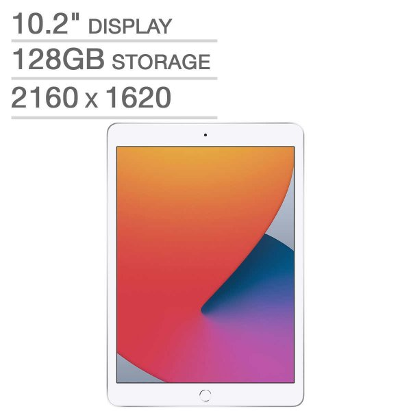 iPad 8代 128GB 银