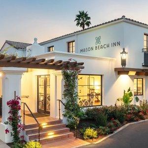 低至7折圣巴巴拉西海滩 梅森海滩酒店2晚 好价入住