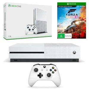 $309(原价$519) 可退税Xbox One S 1TB 白色特别版+ 极限竞速:地平线4套装
