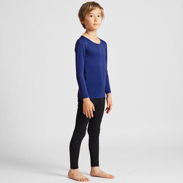 HEATTECH 热暖儿童长袖T恤,多色选
