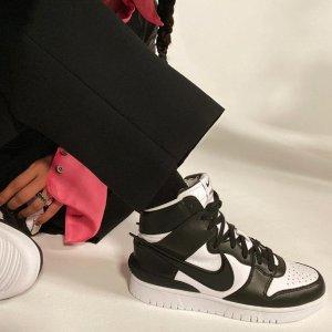 Yoon Ahn Ins 实物上脚曝光预告:AMBUSH x Nike Dunk High 球鞋最新配色即将发布