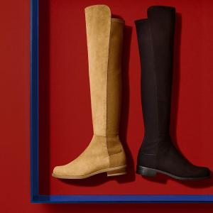 低至2.5折 多款高靴$200+Stuart Weitzman美鞋专场