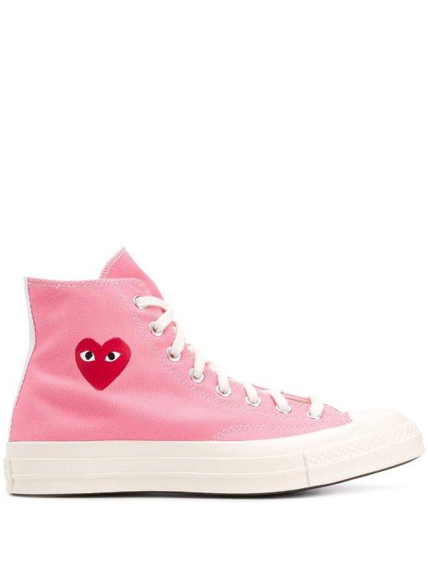 x Comme Des Garcons Chuck 70 高帮帆布鞋