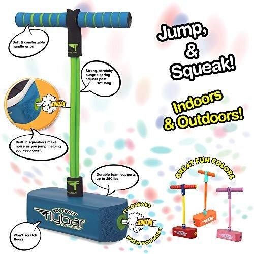 Flybar 儿童趣味弹簧跳跳机 室内室外都能玩