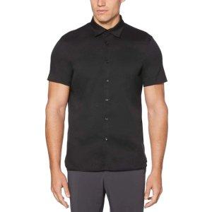 Perry EllisTotal Stretch Slim Fit Solid Shirt