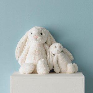 €15收网红小煎蛋 世界上最柔软的玩具送礼首选!Jellycat 治愈毛绒玩偶 新款小煎蛋、小兔兔超萌暴击