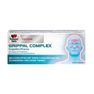 限时折 仅€2收德国特效药:双心感冒发烧药 GRIPPAL COMPLE X 缓解鼻塞 头痛