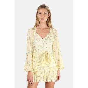 LoveShackFancy Rina Dress