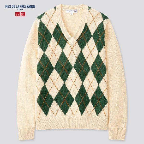 IDLF合作款 格纹毛衣