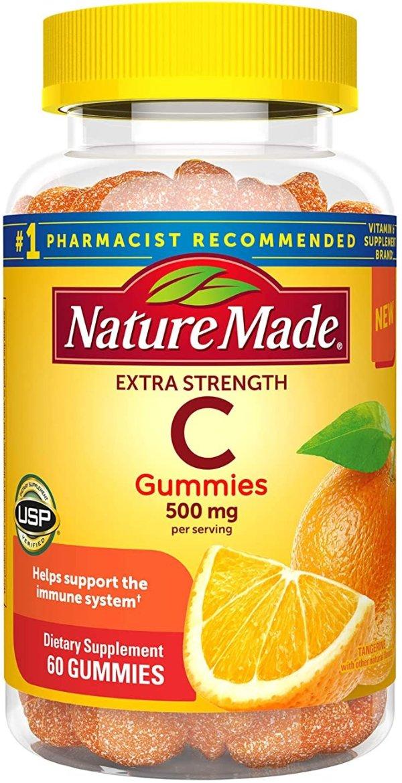 强效维生素C软糖 500mg 60粒
