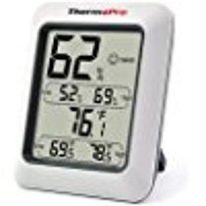 ThermoPro TP50 Hygrometer Thermometer Indoor Humidity Monitor with Temperature Gauge