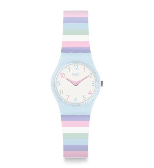 马卡龙色小清新手表