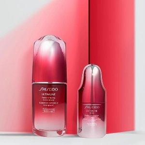 8折 $56收红腰子精华即将截止:Sephora Shiseido 彩妆护肤大促 防晒白胖子囤起来