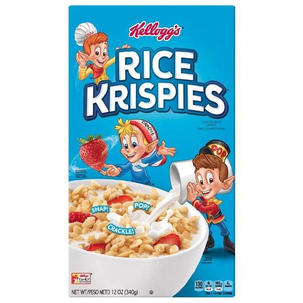 Rice Krispies 即食早餐麦片
