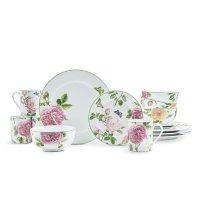 英伦玫瑰餐具16件套