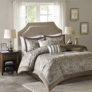 $34.99Comfort Spaces Charlize Jacquard 5 Piece Comforter Set