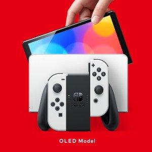 红蓝款 $349.99补货:Nintendo Switch OLED 新款主机