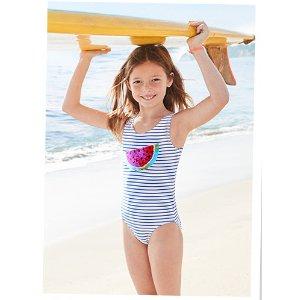 OshKosh B'goshOshKosh Flip Sequin One Piece Swimsuit