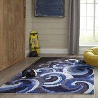 Wovenly 抽象图案地毯
