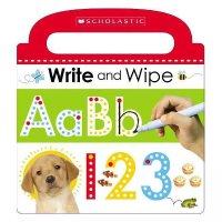 Write and Wipe ABC 123 可擦写字母数字练习书