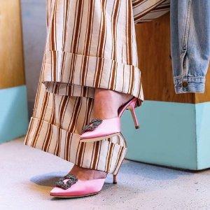 7折+无税包邮11.11独家:Luisaviaroma 经典大牌女鞋专场 Prada,麦昆,铆钉鞋速抢