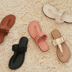 低至4折+Outlet区额外5折Aerosoles 极简鞋履大促 乐福鞋$19,封面款多色可选$39