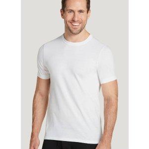 白色圆领T恤12件套