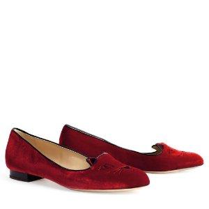 Charlotte Olympia平底鞋