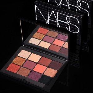 9折 蜜粉饼$46.8收NARS 专业彩妆 收新款眼影盘、裸光奇迹蜜粉饼