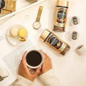 $4.72(原价$6.77)雀巢NESCAFÉ Gold金牌 Espresso 速溶咖啡 罐装100克