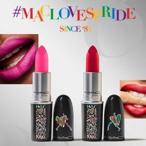 $24+免邮上新:MAC 限量Love彩虹系列上市 RUBY WOO显白鼻祖