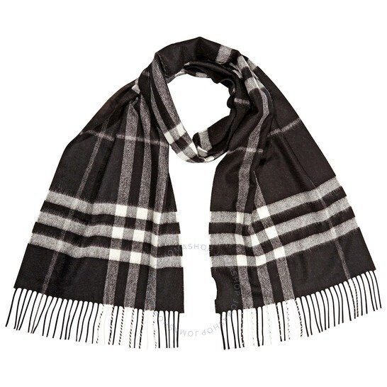 Giant Check羊毛格纹围巾
