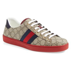 b9fbaaaddc0 GucciNew Ace Webbed Low Top Sneaker