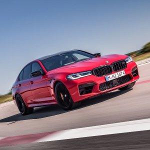 10万美金四门性能车2021 BMW M5/M5 Competition 性能车改款登场