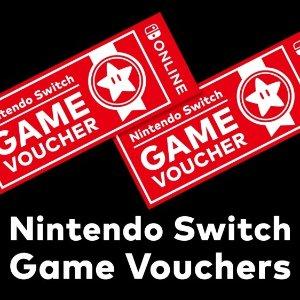 $99.99 Nintendo Switch 2 Game Vouchers