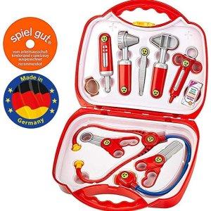 Theo Klein 4383 医生角色扮演玩具10件套 6.5折特价