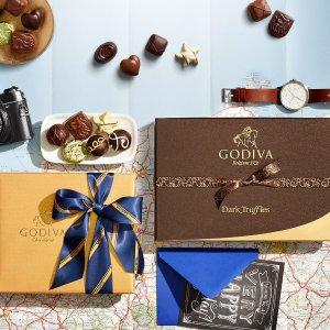 5折起Godiva 比利时巧克力outlet区美味特惠