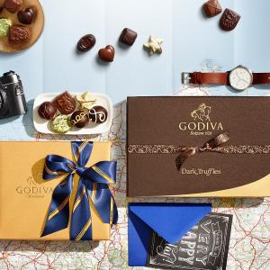 8.5折 巧克力礼盒好价收闪购:Godiva 精选巧克力礼盒限时大促
