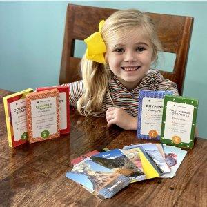 Think Tank Scholar 儿童早教卡 180张卡片含括字母、数字、图形颜色等
