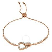 Swarovski 心形水晶手链
