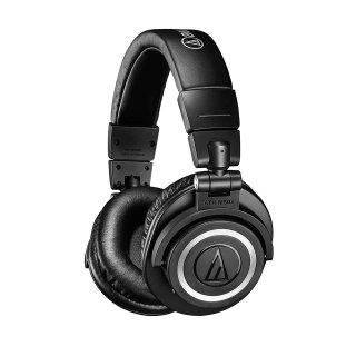 AT2020 $74 ATH-M50xBT $129.99个人录音棚准专业监听耳机、电容话筒促销