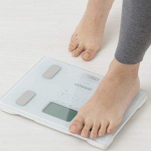 2个直邮加拿大到手价$130欧姆龙体脂秤 宅家健康管家 能测内脏脂肪 记录全家身体数据