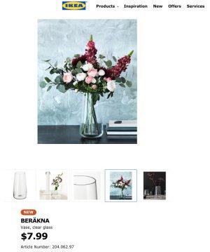 BERÄKNA Vase - IKEA